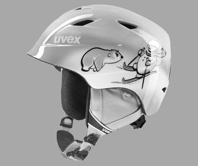 Ski helmet for children
