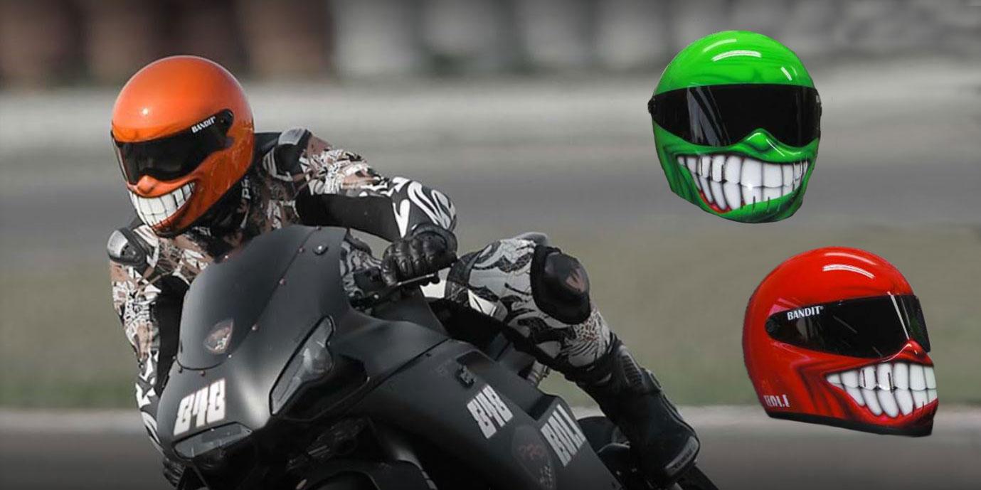 Gefährlicher Leichtsinn Motorradhelme Nicht Selbst