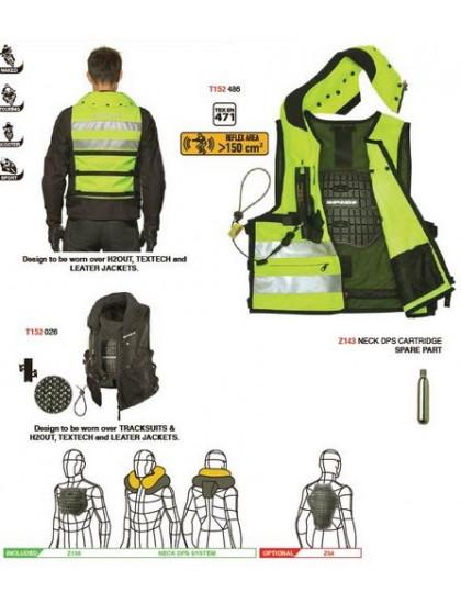 Airbag Westen Gut Geschützt Auf Dem Motorrad Helmexpress Magazin